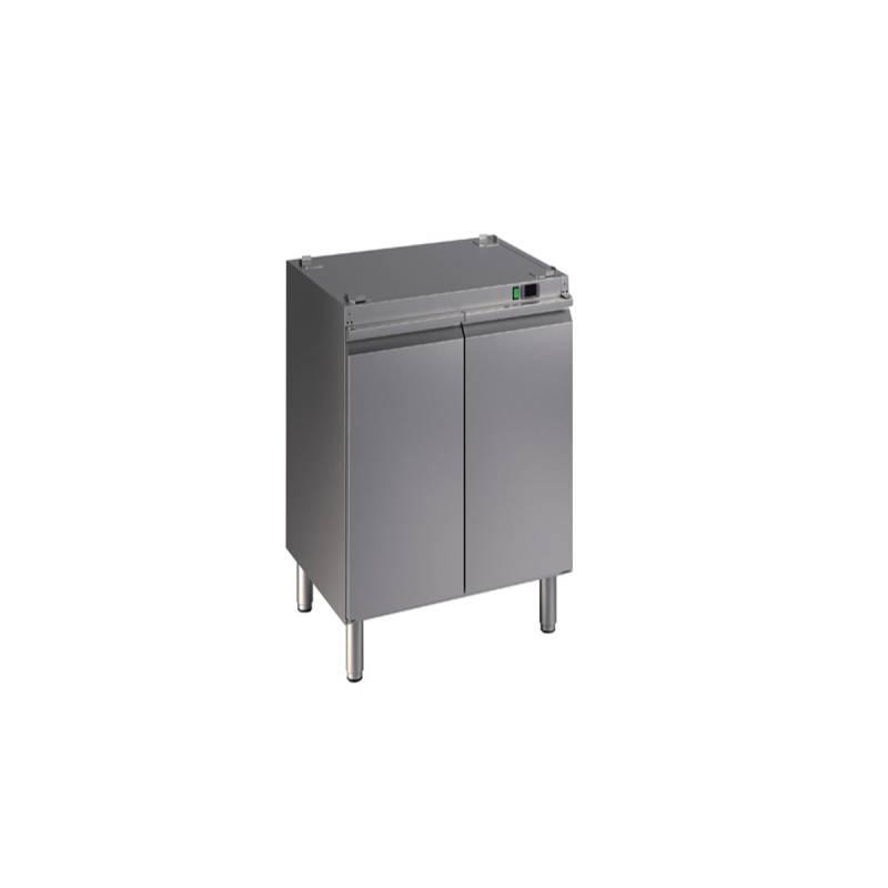 استند گرمکن کابینتی با ظرفیت 12 سینی 1/1 با تنظیم دما پریمکس