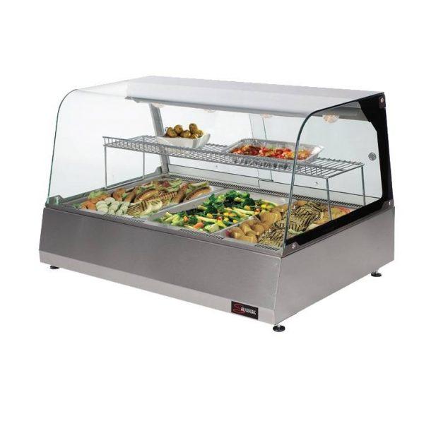 گرمخانه شیشهای غذا 3 طبقه 3 سینی انویل