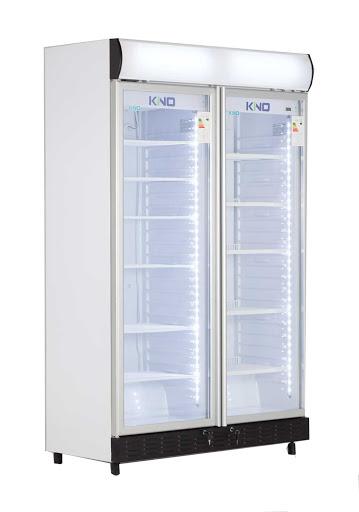 یخچال و فریزر ویترینی ساید کینو مدل KFF615