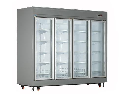 یخچال فروشگاهی ویترینی کینو مدل RV41