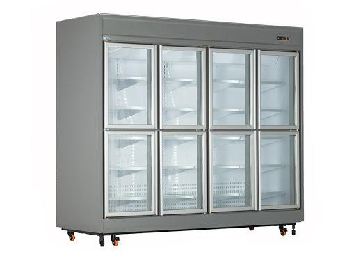 یخچال فروشگاهی ویترینی کینو مدل RV42