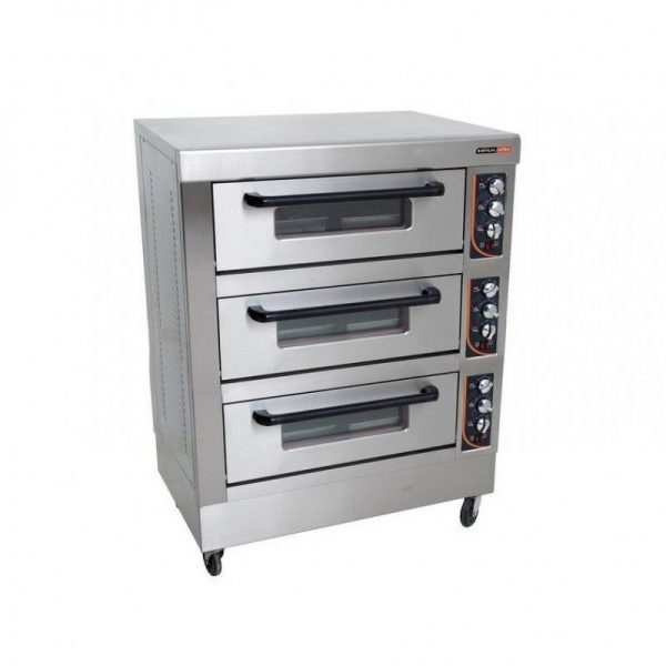 قیمت خرید و فروشفر پیتزا سه طبقه با 6 سینی پخت انویل
